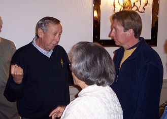 Roy Disney at 2003 Animation Guild 2003 Holiday Open-House Party
