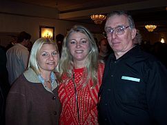 Heather Kenyon, Sarah Baisley and Harvey Deneroff